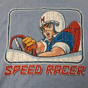 Vintage Speed Racer ringer t-shirt